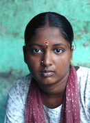 Woman in Chennai/Mad