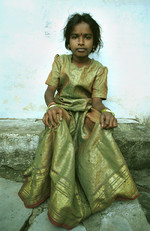 Orphan Child in Slum